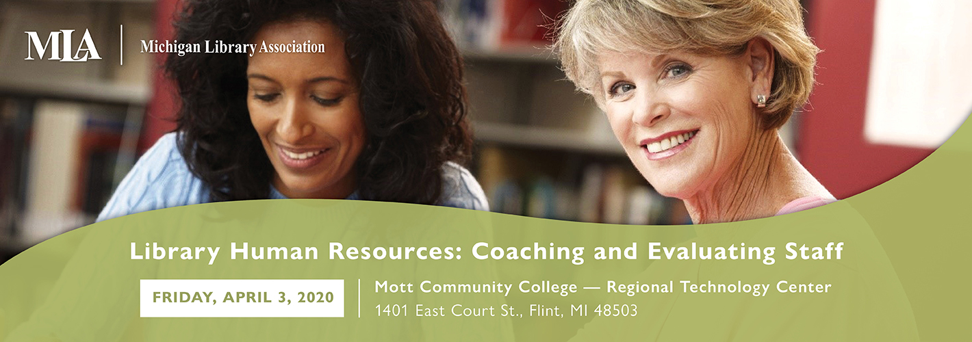 Library Human Resources: Coaching and Evaluating Staff event image