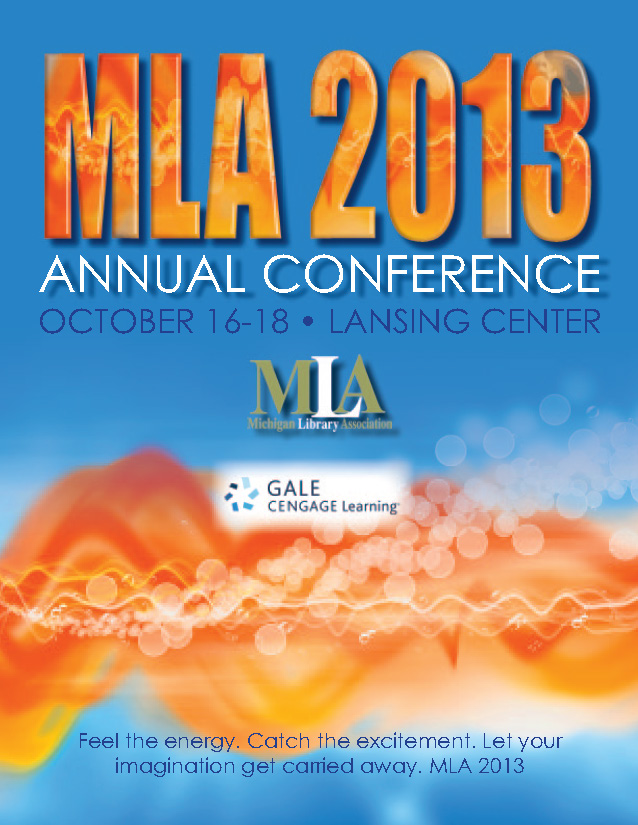 MLA 2013 Program Book Cover image - linked to program book pdf