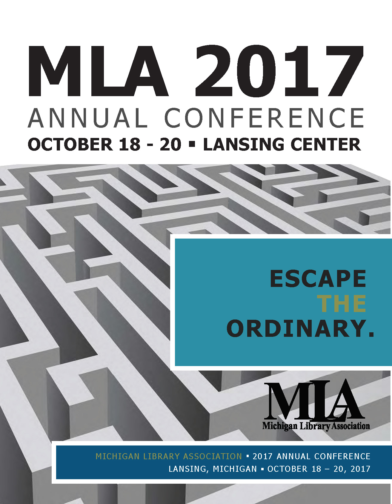 MLA 2017 Program Book Cover image - linked to program book pdf