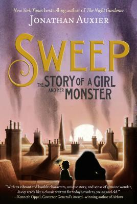 Sweep: The Story of a Girl and Her Monster by Jonathan Auxier book cover