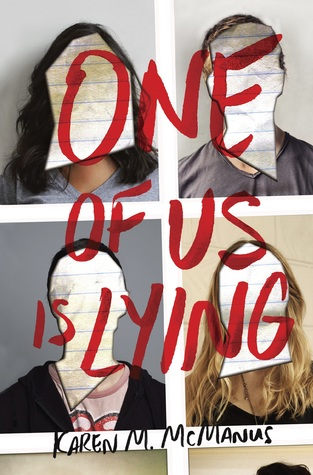 One of Us Is Lying by Karen M. McManus book cover
