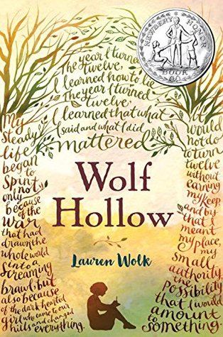 2017 YouPer Award winner Wolf Hollow By Lauren Wolk